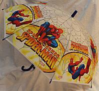 Зонт Детский трость матовый полуавтомат Человек Паук 18-3126-2