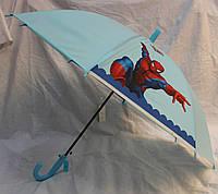 Зонт Детский трость матовый полуавтомат Человек Паук 18-3126-6