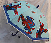 Зонт Детский трость матовый полуавтомат Человек Паук 18-3126-7