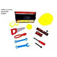 Набор Юный плотник, 21 дет., с каской в чемодане KW-32-005 KinderWay