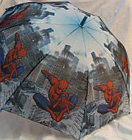 Зонт Детский трость матовый полуавтомат Человек Паук 18-3126-9