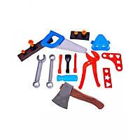 Набор Юный плотник, 23 дет., с топором и молотком KW-32-002 (2) KinderWay