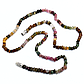 Турмалін різнобарвний, намисто шнурок, 036ОТ, фото 2