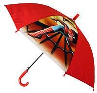 Зонт Детский трость матовый полуавтомат Человек Паук 18-3126-16