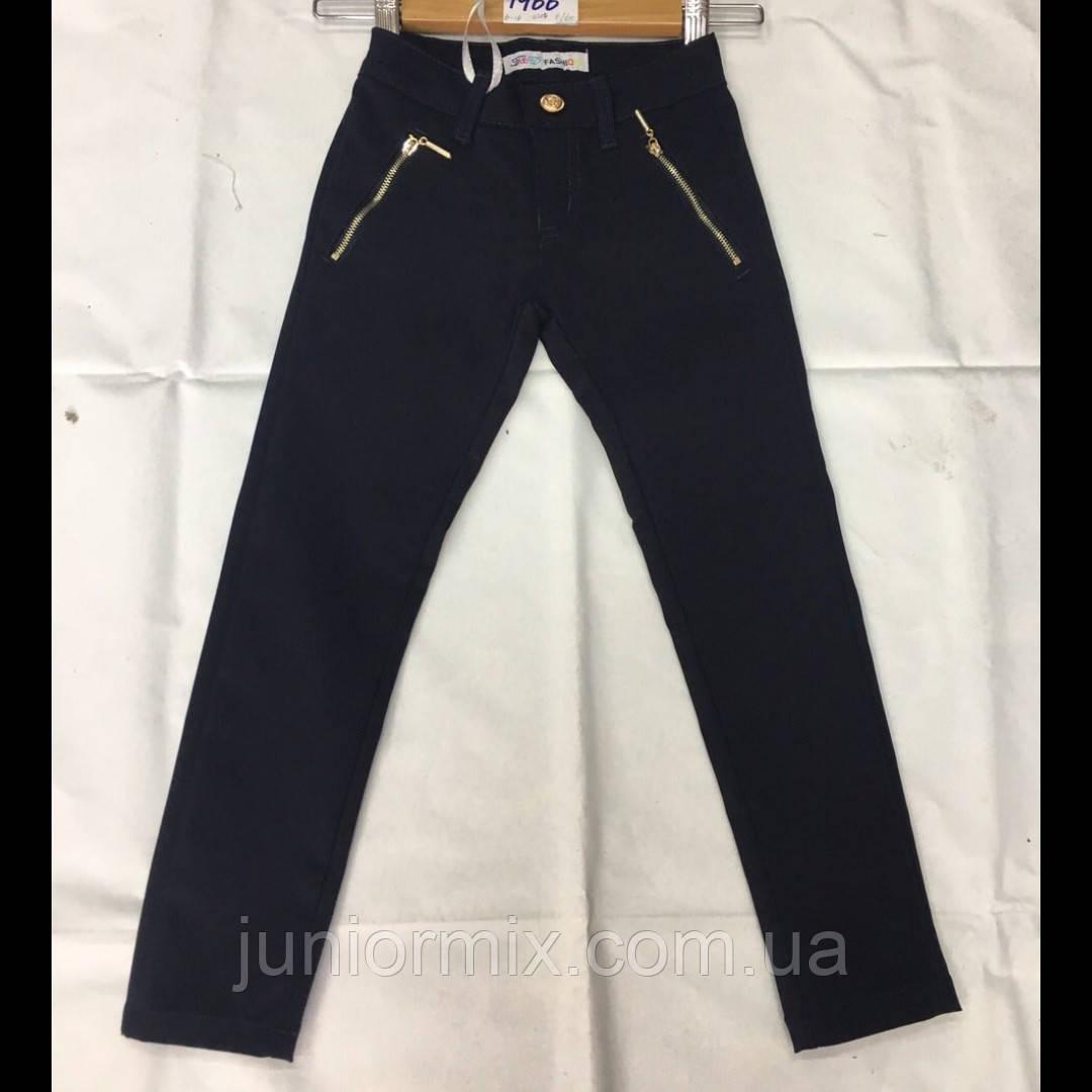 Школьные подростковые брюки для девочки оптом F&D