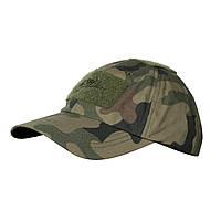 Тактическая бейсболка Helikon-Tex® Tactical Baseball Cap PR - PL Woodland