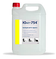 Моющее средство для полов, кислотное, Юнит Фло 754, кан 5л
