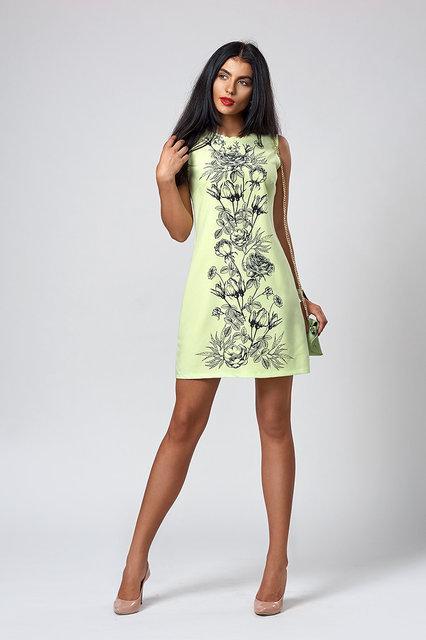 ac35f7c6db03b45 ... Молодежное женское платье украшено рисунком с камнями, бирюзовое, ...