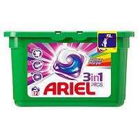 "Ariel Гель для стирки в капсулах ""Color & Style"" 3 Concentrated Action 12 шт."