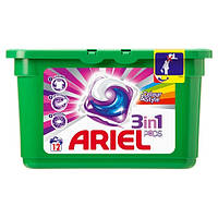 "Ariel Гель для стирки в капсулах ""Color & Style"" 3 Concentrated Action 12 шт."