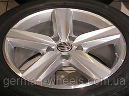 Комплект оригинальных 19 дюймовых дисков Girona на Volkswagen (Фольксваген) Touareg 7P