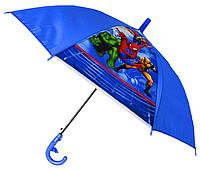 Зонт Детский трость матовый полуавтомат Человек Паук 18-3126-17