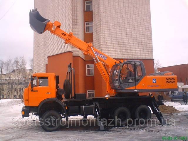 Новый экскаватор планировщик ТЭП-18 на шасси КАМАЗ-65111 купить в Киеве