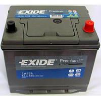 Аккумулятор Exide 65 А (Asia) Иксайд 65 Ампер (Корея) EA654