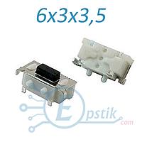 Кнопка тактовая 6х3х3.5 мм. 2pin SMD