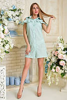 Платье Люсси АПМ 0260 зеленый