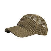 Тактическая бейсболка Helikon-Tex® Baseball Mesh Cap - Койот, фото 1