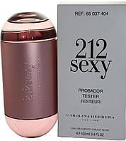 Женская парфюмированная вода Carolina Herrera 212 Sexy Women, тестер, 100 мл
