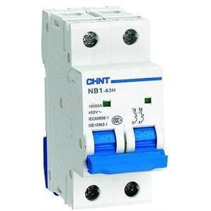 Автоматический выключатель NB1-63 2P 6KA C 40A