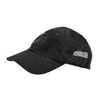 Тактическая бейсболка Helikon-Tex® Tactical Baseball Vent Cap PR - Черная
