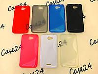 Силиконовый чехол Duotone для HTC Desire 516 (7 цветов)