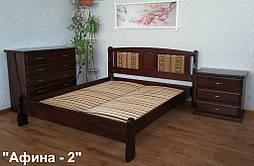 """Кровать деревянная """"Афина"""", покрытие - венге"""