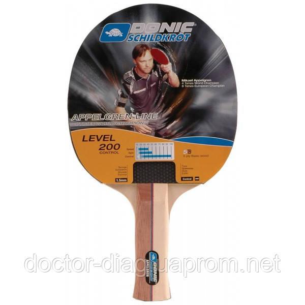 Donic Ракетка для настольного тенниса Donic Appelgren 200 (703002)