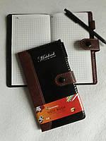 Записная книга В6, 48 листов, на кнопке, ручка, Turbo, 5713-48к, 2551017