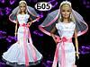 Свадебное платье и фата для Барби