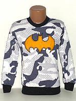 """Детская одежда оптом.Кофта """"Бэтмен"""" на мальчика 6,7,8,9,10 лет"""