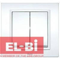 Выключатель 2-кл.белый El-Bi Zena 500-010200-202