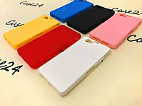 Силиконовый чехол для Sony Xperia Z1 Compact D5503 (6 цветов)