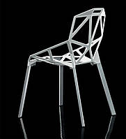 Стул Chair oneбелый алюминий,стиль модерн, дизайнKonstantin Grcic