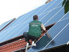 г. Борислав, Львовская обл. сетевая солнечная электростанция 10.2 кВт PrimeVolt