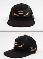 Кепка рэперка Бэтмен с прямым козырьком