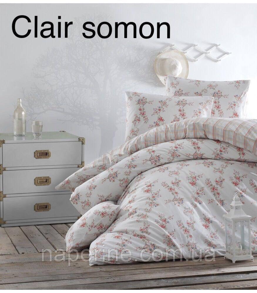 Постельное бельё ранфорс евро ALTINBASAK Clair somon