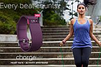 Фитнес-трекер Fitbit Charge HR Plum Small ФИОЛЕТОВЫЙ SKU0000790