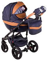 Детская коляска универсальная 2 в 1 Adamex Monte Deluxe Carbon D4 (Адамекс Монте, Польша)