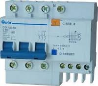 Автоматический выключатель дифференциального тока АВДТ DZ47LE-63 3P+N 6KA 0.03A C 20A
