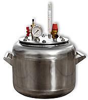 Автоклав домашний газовый А8 нержавеющая сталь (0,5л - 8шт), фото 1