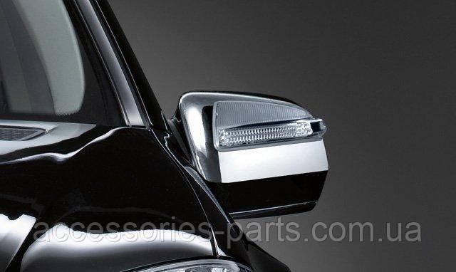 Накладки на зеркала комплект Mercedes-Benz GL X164 ML W166 Новые Оригинальные