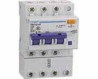 Автоматический выключатель дифференциального тока АВДТ NB47LE-63 3P+N 0.03A C 32A