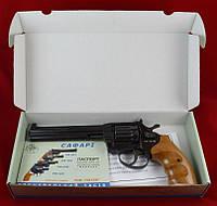Револьвер под патрон Флобера Safari (Сафари) 461м рукоять бук
