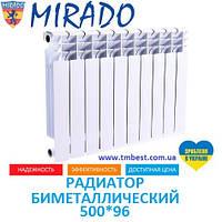 Радиатор биметаллический Mirado 500*96