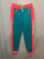 Спортивные штаны на девочку подростка 128,134 см, фото 1
