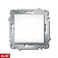 Выключатель 1-кл Zena модуль белый  609-010200-200