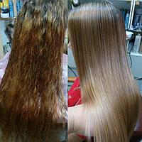 Белковое выпрямление-реконструкция волос по японской технологии от GOLDWELL