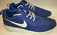 Кроссовки дышащие летние р43 NIKE 692 синие