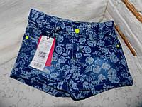 Джинсовые шорты для девочек Glo-story 122 рр