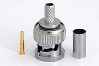 Dilux - Коннектор BNC/M RG58 crip (BNC-male crip on for RG58U)